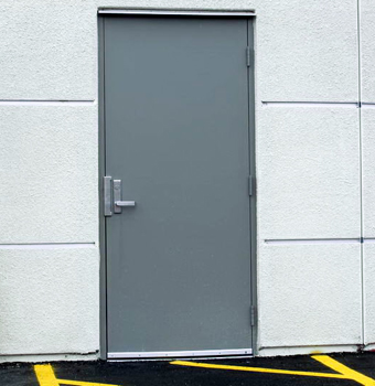 bullet resistant doors by Barrier Integrated Systems